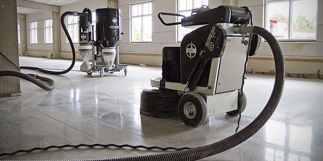 Broušení průmyslových podlah