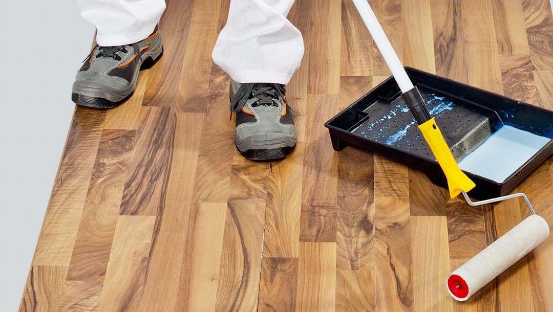 Lakování podlah