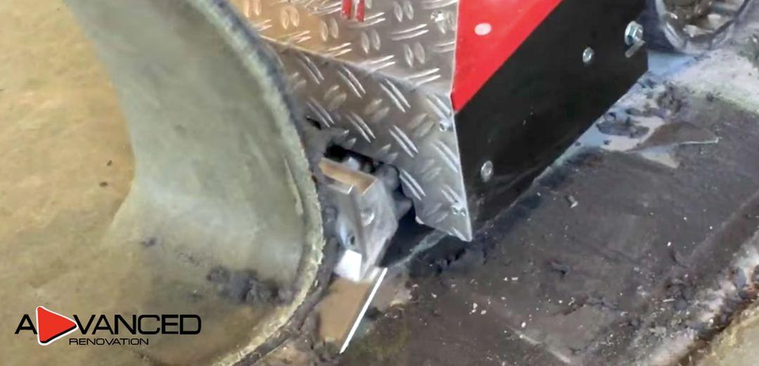 Odstranění stěrky