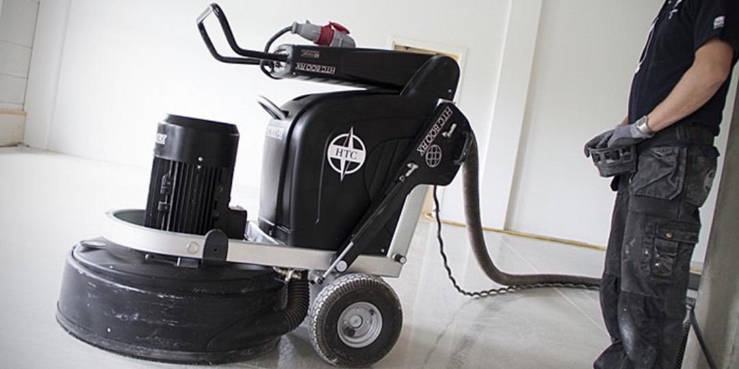 Broušení teraco podlah