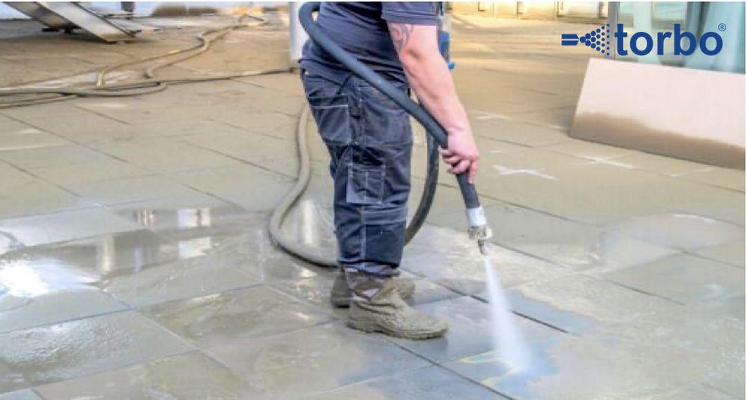 Tryskání podlah
