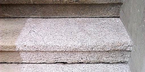 Tryskání schodů